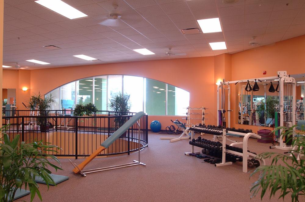 Fitness Lady - Barrett Design Studio