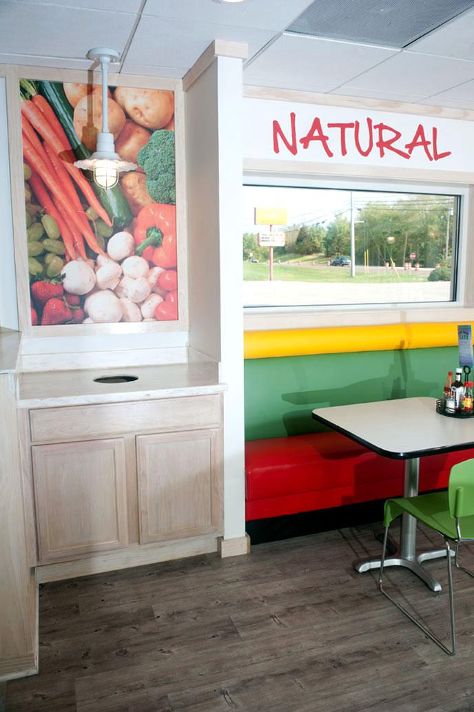 Fresh Market Cafe - Barrett Design Studio