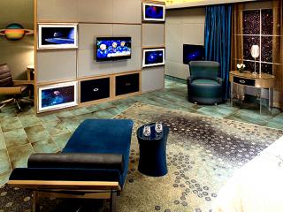 Outer Space Guest Room - Barrett Design Studio